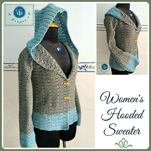 Free Crochet Pattern Hooded Sweater : Free Crochet Hooded Baby Sweater Patterns Dog Breeds Picture