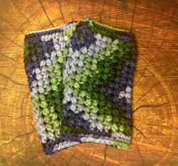 Bobble Stitch Hand Warmers