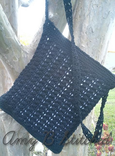 Crochet Patterns Galore Boho Twist Crossbody Bag