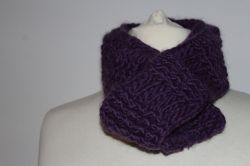 Snuggly Basket Weave Scarf