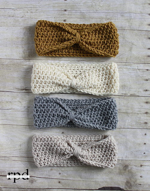 Crochet Patterns Galore Knotted Headband
