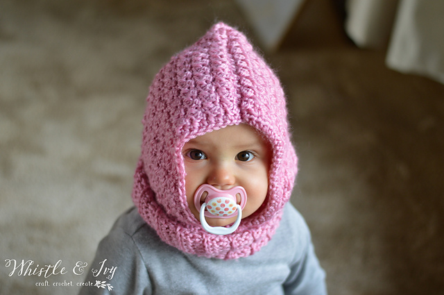 Crochet Patterns Galore Baby Hooded Cowl