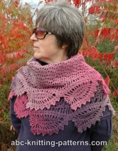 Tulip Reverie Shawl