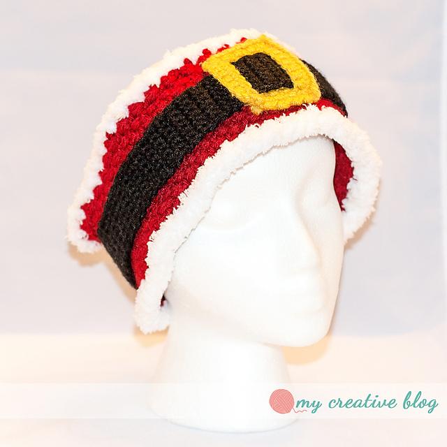 """Crochet Patterns Galore - """"Santa Baby"""" Earwarmer"""