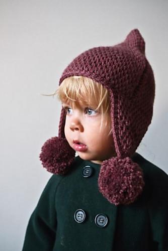 Crochet Patterns Galore Pointy Pom Pom Hat