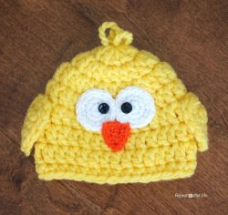 Chunky Baby Chick Hat