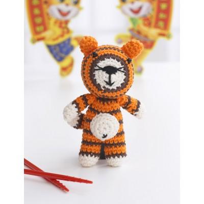 Crochet tiger amigurumi pattern | Amiguroom Toys | 400x400