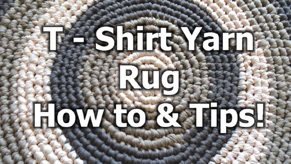 Crochet Patterns Galore T Shirt Yarn Round Rug