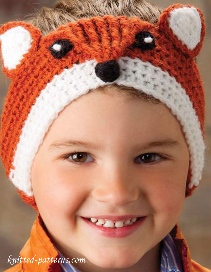 Crochet Patterns Galore Fox Headband