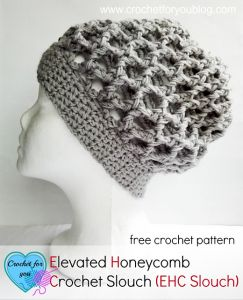 Honeycomb Slouch Hat