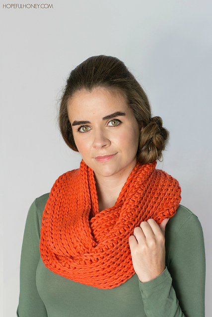 Crochet Patterns Galore Chunky Ribbed Infinity Scarf