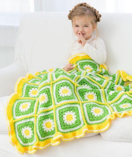Crochet Patterns Galore - Daisy Garden Blanket