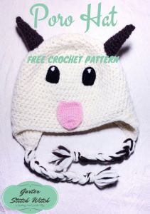 League of Legends inspired Poro Hat