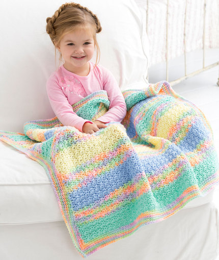 Crochet Patterns Galore Tropical Baby Blanket