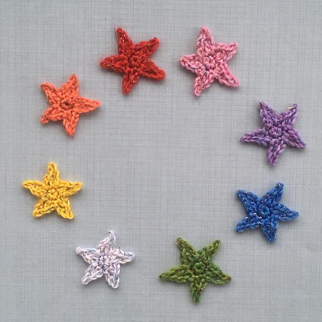 Crochet Patterns Galore Tiny Sparkling Stars