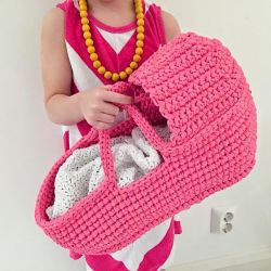 Doll's Carry Basket