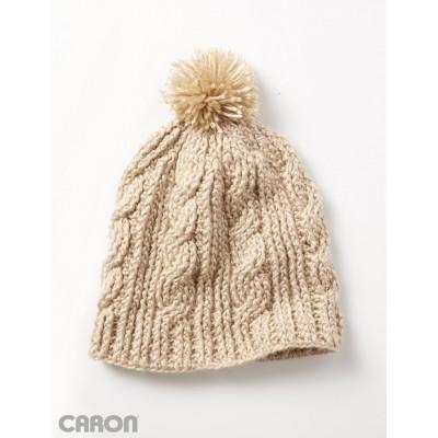 Crochet Patterns Galore Cable Twist Hat