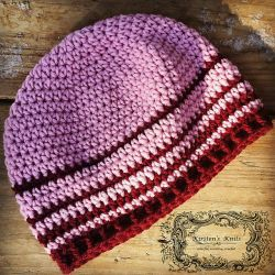 Cherry Stripe - Women's Beanie