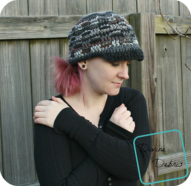 Crochet Patterns Galore Becca Newsboy Hat