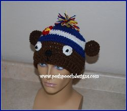 Bear Colorado Beanie Hat
