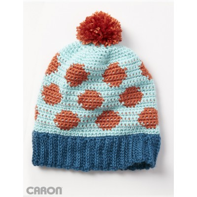 Crochet Patterns Galore - Going Dotty Hat