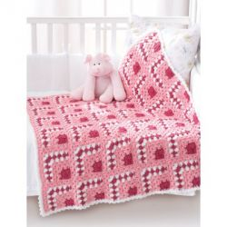 Puzzle Blocks Baby Blanket