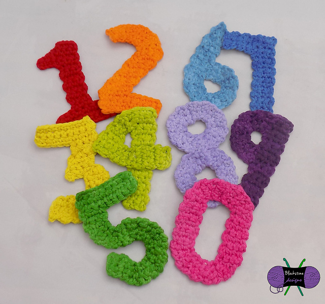 Crochet Pattern Numbers : Crochet Patterns Galore - Numbers
