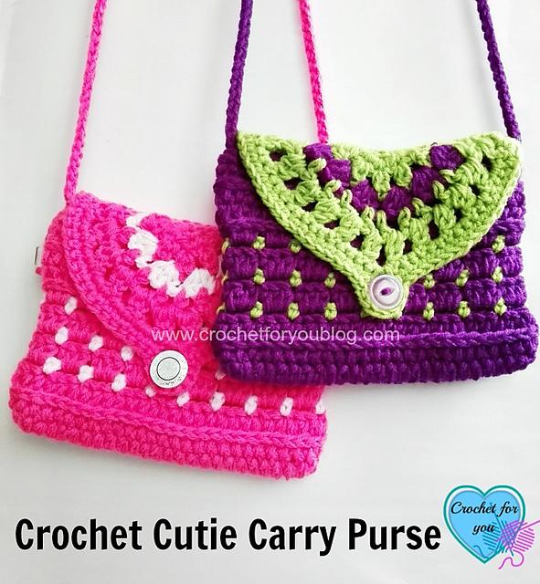 Crochet Patterns Galore Cutie Carry Purse