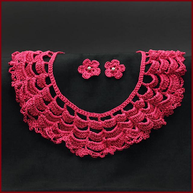 Crochet Patterns Galore Lace Collar Necklace