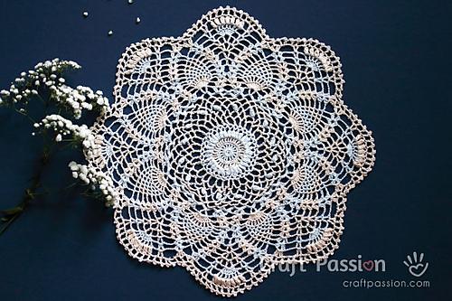 Crochet Patterns Galore Pineapple Doily