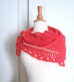 Lady Mary's Triangle Scarf