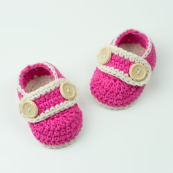 Baby Booties Pretty In Pink
