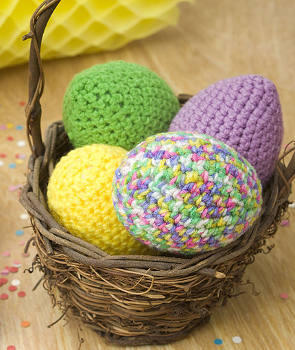 Crochet Patterns Galore Easter Eggs