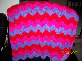 Crochet Patterns Galore Bev S Baby Ripple Afghan