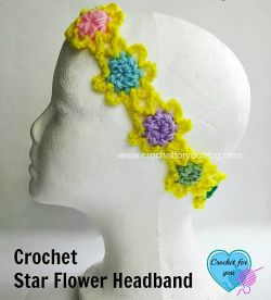 Star Flower Headband
