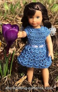 Basic Sundress for Mini American Girl Doll