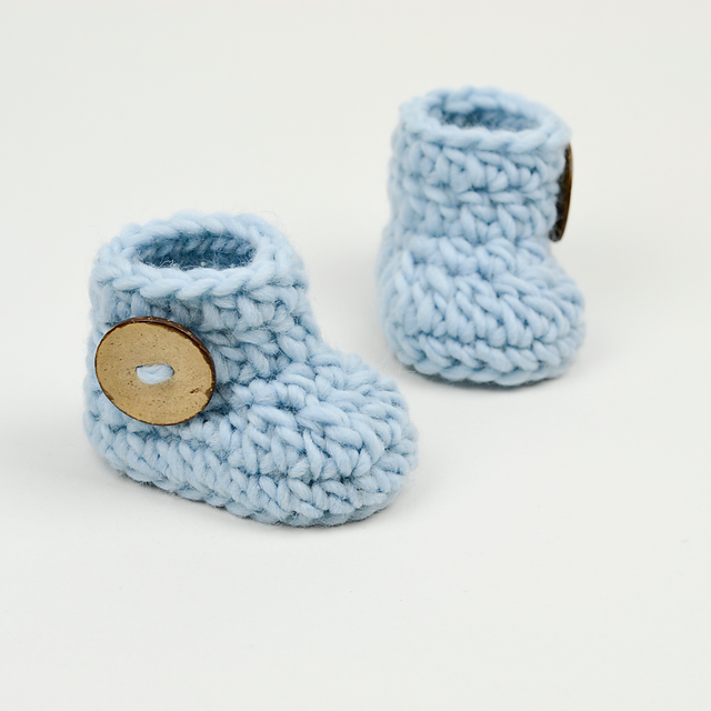 Crochet Patterns Galore Fast And Easy Baby Booties