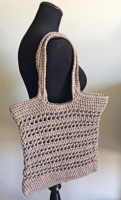 Crochet Patterns Galore - Open-Air Market Bag