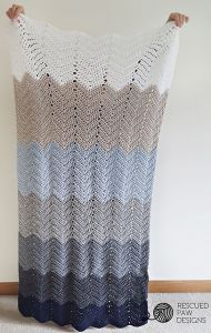 Ombre Ripple Blanket