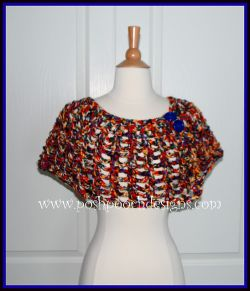 Whimsical Cape Shawl