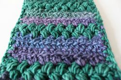 Puff-y Stripes Scarf