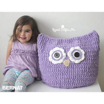 Crochet Patterns Galore Oversized Owl Pillow To Crochet