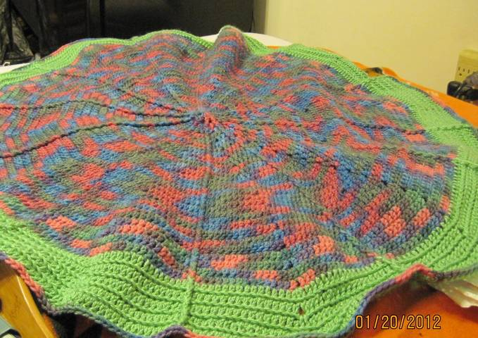 Crochet Patterns Galore Kathys Round Afghan