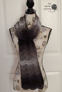 Ombre Chevrons Scarf