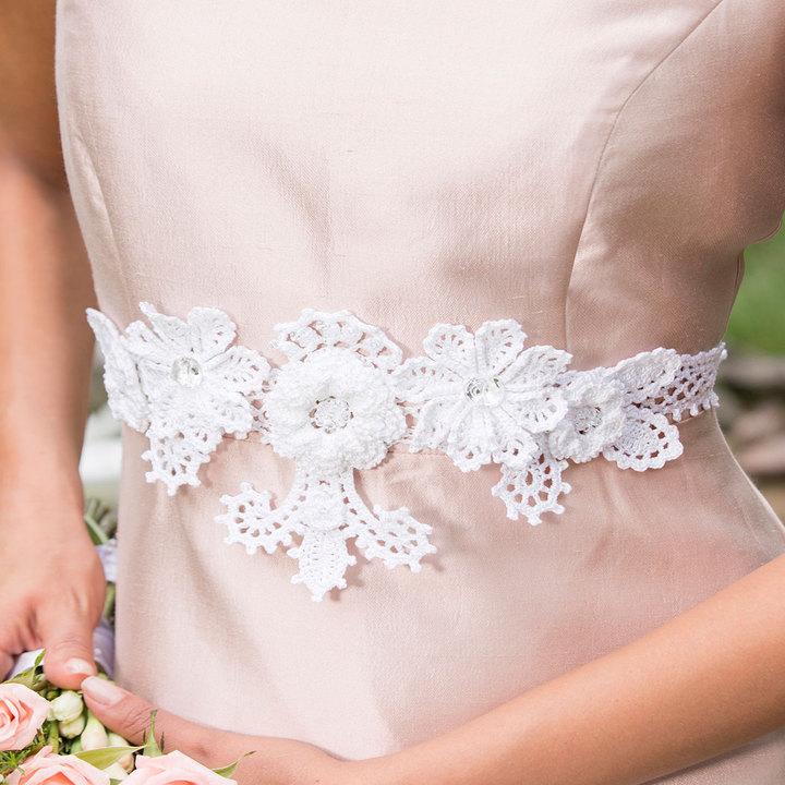 Crochet Patterns Galore Stunning Bridal Belt