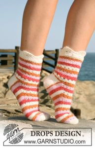 Summer Sorbet Socks