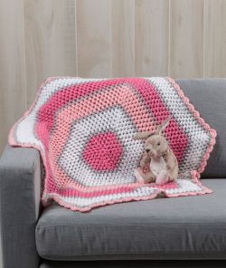 Sweet Baby Hexagon Blanket