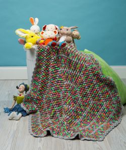 Comfy Kid Hexagon Blanket