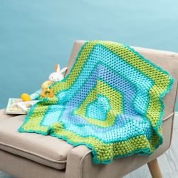 Beach Time Hexagon Blanket