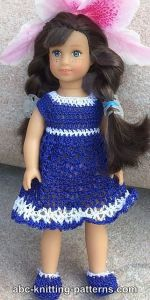 American Girl MINI Doll Bluebonnet Sundress